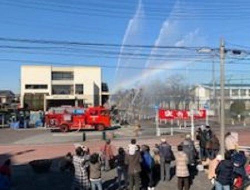 丹羽郡の消防出初式が挙行されました。